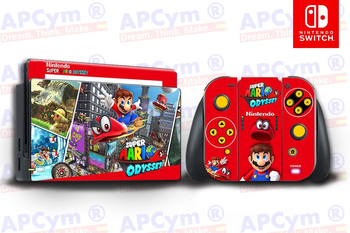 Vinilo Nintendo Switch Mario Odissey 3d183f3a9dd