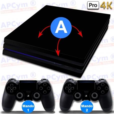 Personaliza tu Consola PS4 PRO 4k