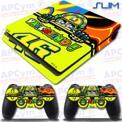 Vinilo PS4 Slim Rossi Yellow
