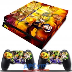 Vinilo Playstation 4 Dragon Ball Z Goku Yellow