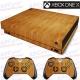 Vinilo Xbox One X Madera