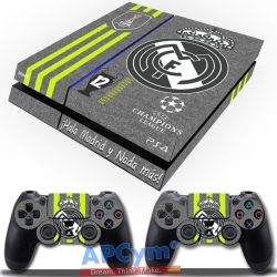 Vinilo Playstation 4 Real Madrid Gris