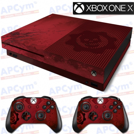 Vinilo Xbox One X Gears of War Ed. Coleccionista