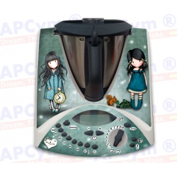 Vinilo Thermomix TM31 Muñecas Green