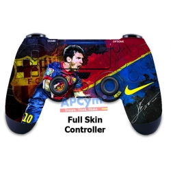 Vinilo para Mando PS4 Messi 10