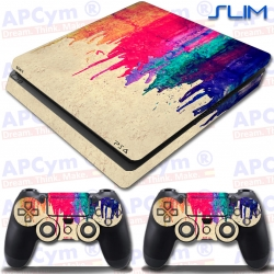 Vinilo PS4 Slim Colorines