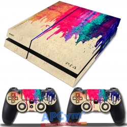 Vinilo Playstation 4 Colorines