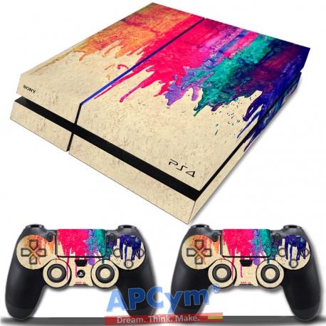 Vinilo Playstation 4 Colorines