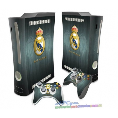 Vinilo Xbox Fat Modelo Real Madrid