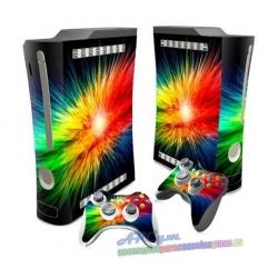 Vinilo Xbox Fat Modelo Rainbow
