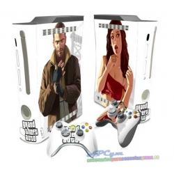 Vinilo Xbox Fat Modelo GTA