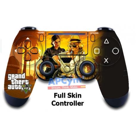 Vinilo para Mando PS4 GTA V Yellow
