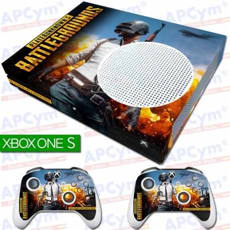 Vinilo Xbox One Slim Battlegrounds