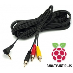 Cable para Conectar Raspberry Pi 3 a TV Antiguas