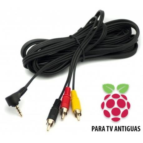Cable para Conectar Raspberry Pi 3 a TV Antiguas