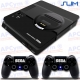 Vinilo PS4 Slim Retro Mega Drive