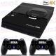 Vinilo PS4 PRO 4K Retro Mega Drive