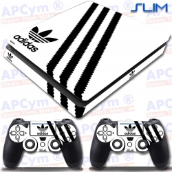 Vinilo PS4 Slim Decorativo White