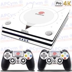 Vinilo PS4 PRO 4K Retro Dreamcast