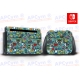 Vinilo Nintendo Switch Green Back