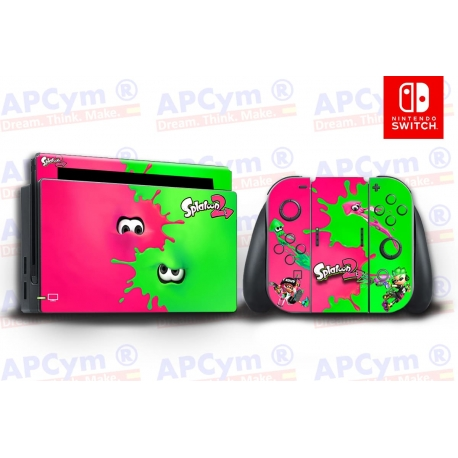 Vinilo Nintendo Switch Splatoon 2
