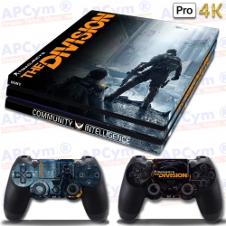Vinilo PS4 PRO 4K The Division