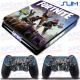 Vinilo PS4 Slim Fortnite