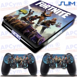 Vinilo PS4 Slim Fortnite