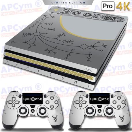 Vinilo PS4 PRO 4K God of War Edicion Coleccionista