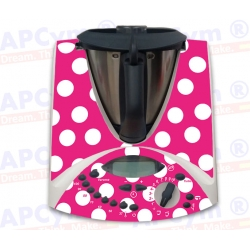 Vinilo Thermomix TM31 Flamenca Rosa