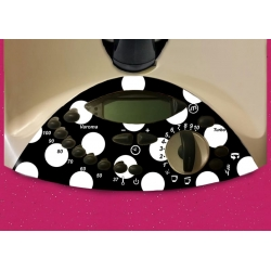 Vinilo Panel Thermomix TM31 Flamenca Negra