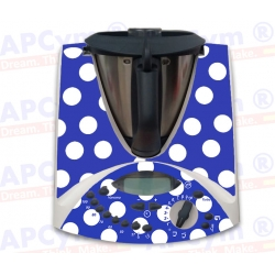 Vinilo Thermomix TM31 Flamenca Azul