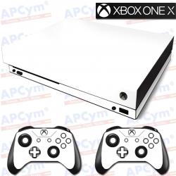 Vinilo Xbox One X Blanca