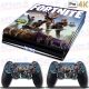 Vinilo PS4 PRO 4K Fortnite