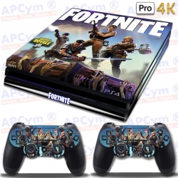 Vinilo PS4 PRO 4K Fortnite