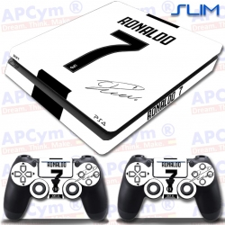 Vinilo PS4 Slim CR7 Ronaldo Juve