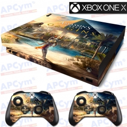 Vinilo Xbox One X Assassins Creed Origins