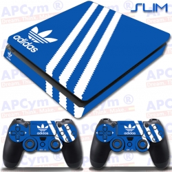 Vinilo PS4 Slim Decorativo Azul