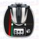 Vinilo Thermomix TM5 Decorativo Gucci