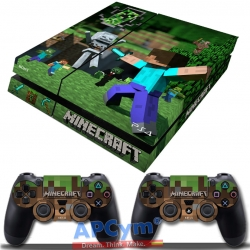 Vinilo Playstation 4 Fat Minecraft