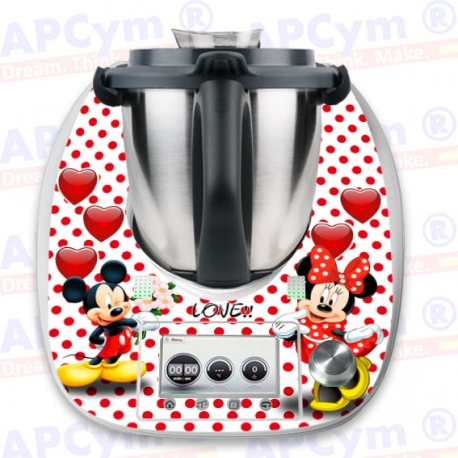 Vinilo Thermomix TM5 Mickey Love