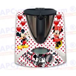 Vinilo Thermomix TM31 Mickey Love
