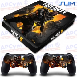 Vinilo PS4 Slim Call Of Duty Black Ops 4