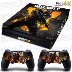 Vinilo PS4 PRO 4K Call Of Duty Black Ops 4