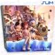 Vinilo PS4 Slim Kingdom Hearts Personajes