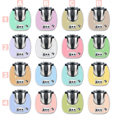 Vinilo Thermomix TM5 Colores Pastel