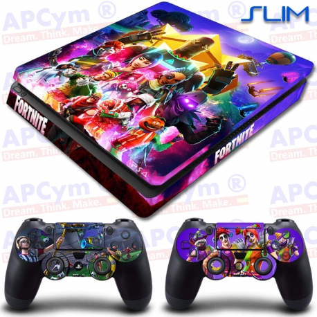 Vinilo PS4 Slim Fortnite 6