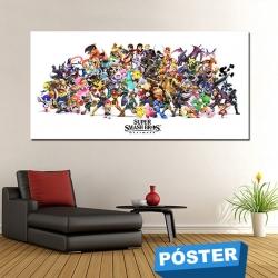Poster Smash con Protector en Brillo