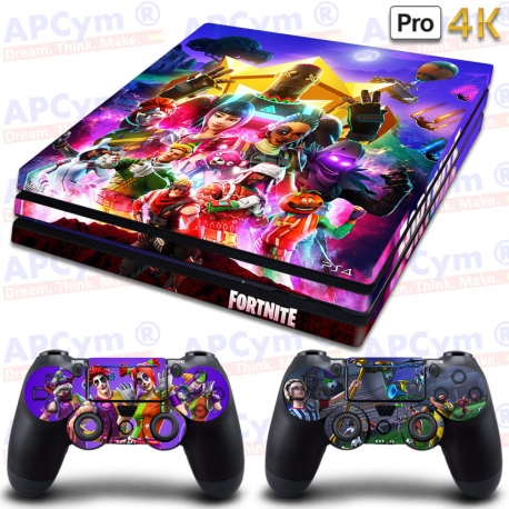 Vinilo para PS4 PRO 4K Fortnite