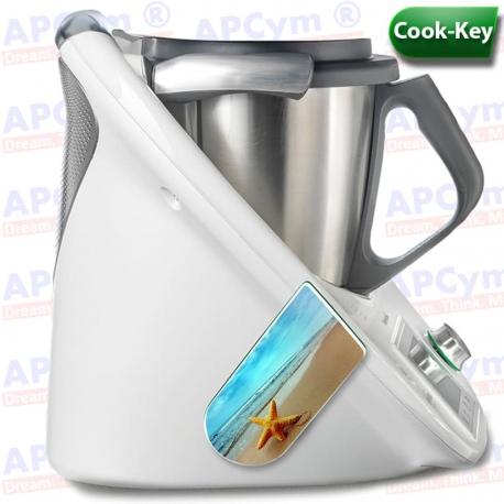 Vinilo Cook Key Thermomix TM5 Playa